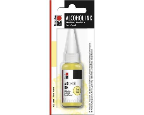 Marabu Alcohol Ink, citron 020, 20ml