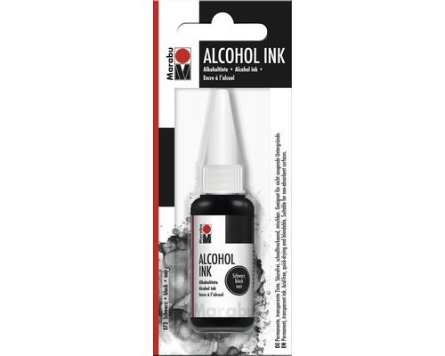 Marabu Alcohol Ink, noir 073, 20ml