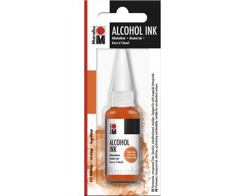 Marabu Alcohol Ink, rouge orangé 023, 20ml