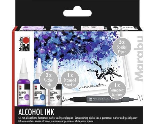 Marabu Alcohol Ink-Set UNDERWATER