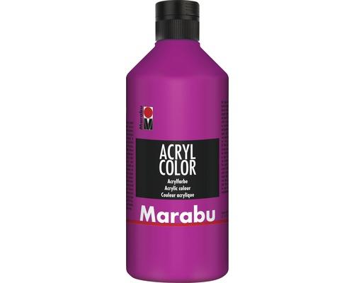 Marabu Acryl Color, magenta 014, 500ml