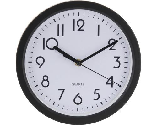 Horloge murale Dia noir Ø 23 cm
