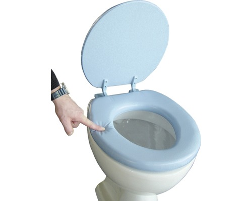 WC-Sitz ADOB Lugano hellblau gepolstert