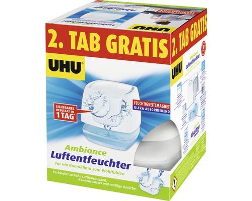 Déshumidificateur UHU Ambiance CT blanc 450 g + 2 tablettes gratuites