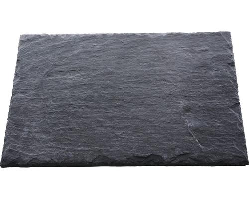 Dalle d''ardoise naturelle PRECIT anthracite 30 x 20 x 0,7 cm
