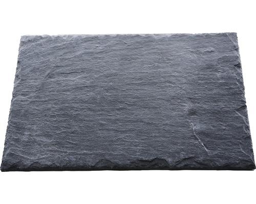 Dalle d''ardoise naturelle PRECIT anthracite 40 x 20 x 0,7 cm