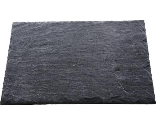 Dalle d''ardoise naturelle PRECIT anthracite 50 x 25 x 0,7 cm