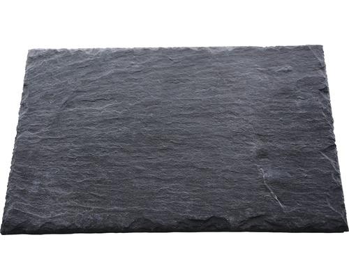 Dalle d''ardoise naturelle PRECIT anthracite 60 x 30 x 0,7 cm