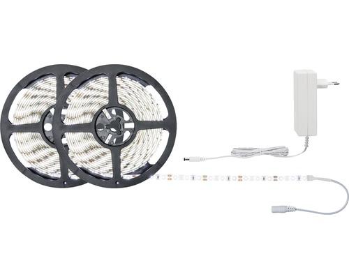 Kit de bande SimpLED prêt à l''emploi 10 m 1870 lm 6500 K blanc naturel 600 LED revêtu 12V
