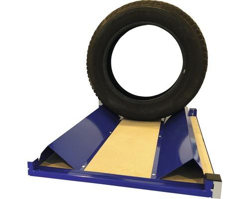 Support de pneus cornière Industrial 100x1000x180mm 2 pièces