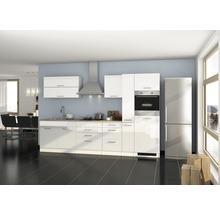 Cuisine complète non équipée Held Möbel Mailand 320 cm blanc haute brillance sans appareils électriques 615.1.6210-thumb-1