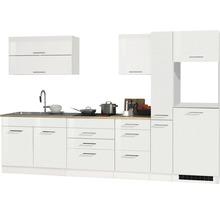 Cuisine complète non équipée Held Möbel Mailand 320 cm blanc haute brillance sans appareils électriques 615.1.6210-thumb-0