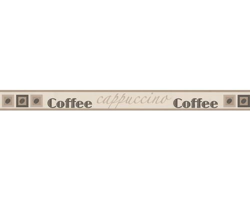 Frise Stick Up`s Cappuccino brun 5m x 5.3 cm