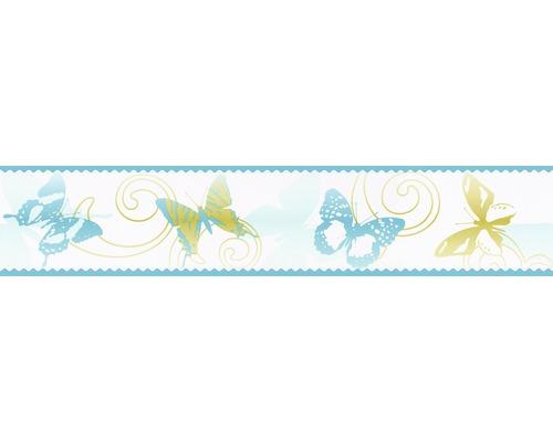 Frise Stick Up`s papillon bleu 5m x10.6 cm