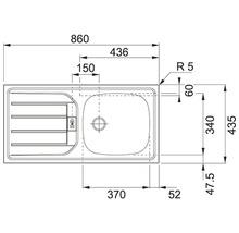 Küchenzeile Held Möbel Mailand 390 cm weiß hochglanz inkl. E-Geräte 638.1.6210-thumb-27