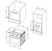 Küchenzeile Held Möbel Mailand 390 cm weiß hochglanz inkl. E-Geräte 638.1.6210-thumb-30