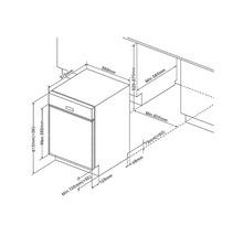 Küchenzeile Held Möbel Mailand 390 cm weiß hochglanz inkl. E-Geräte 638.1.6210-thumb-31
