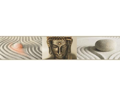 Frise Stick Up`s Tête de Bouddha brun 5m x 10.6 cm