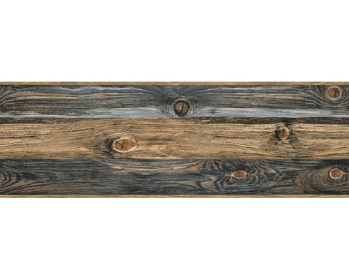 Frise Only Borders 8 Effet bois brun 5 m x 17,7 cm