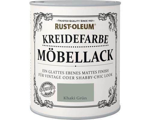 Kreidefarbe Khaki grün 750 ml