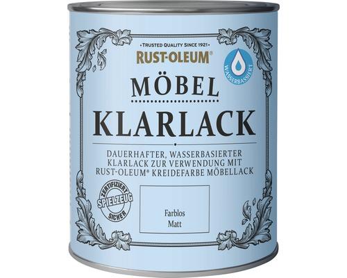 Kreidefarbe Klarlack transparent 750 ml