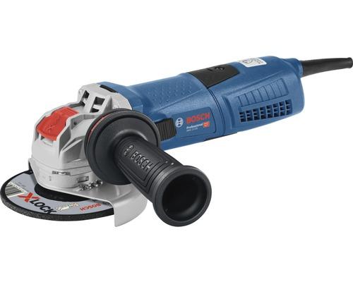 Meuleuse d''angle avec X-LOCK Bosch Professional GWX 13-125 S avec poignée supplémentaire