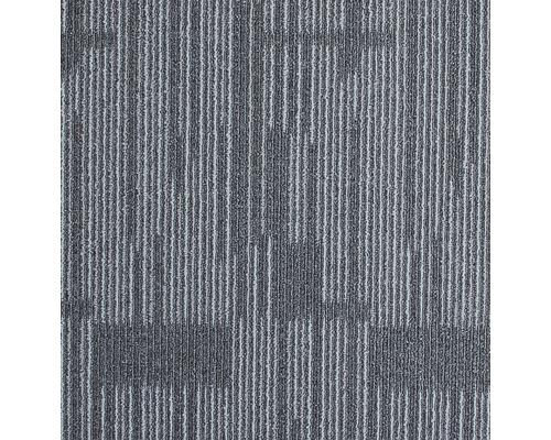 Dalle de moquette Zenit 900 gris 50x50 cm
