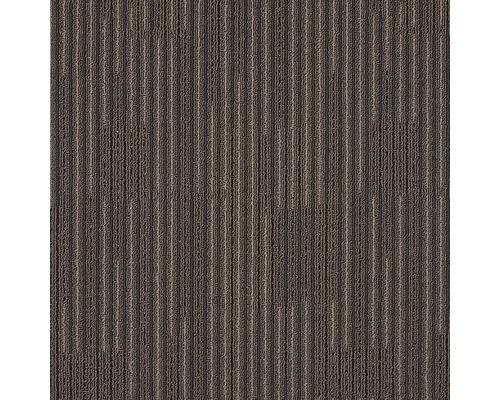 Teppichfliese Zenit 880 braun 50x50 cm