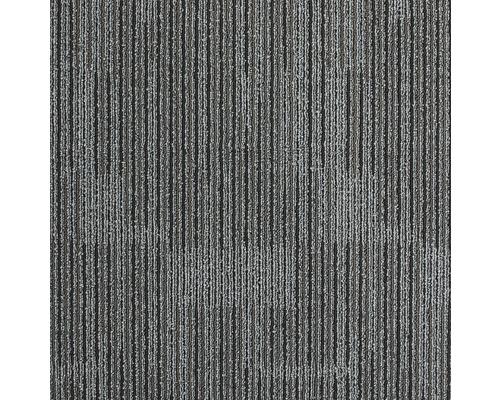 Teppichfliese Zenit 980 anthrazit 50x50 cm
