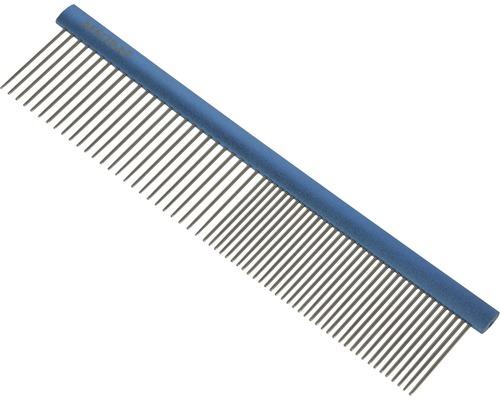 Peigne à fourrure Aesculap avec poignée bleu 192x44 mm