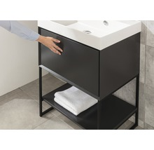 Waschtischunterschrank Chicago 59 cm anthrazit-thumb-4