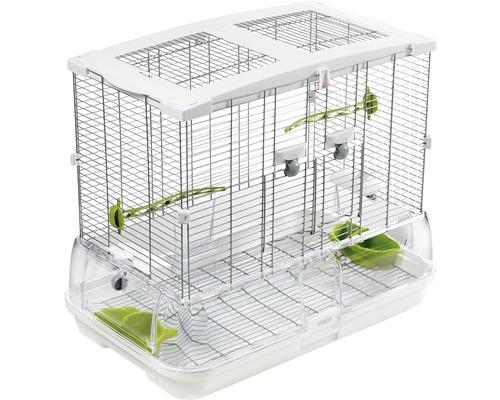 Cage à oiseaux Vision II modèle M01 abri à oiseaux 60,9 x 38,1 x 52 cm blanc
