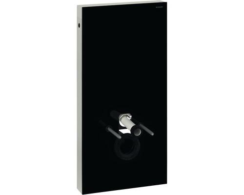 Bâti-support GEBERIT Monolith pour WC suspendu 101 cm avec manchon de raccordement, raccordement d'eau latéral 131.022.SJ.5 noir