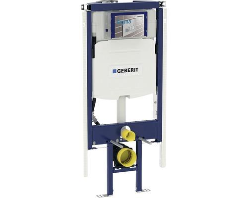 Bâti-support Geberit Duofix pour WC suspendu 112 cm avec réservoir de chasse d'eau à montage encastré Sigma 12 cm solution d'angle pour actionnement par l'avant 111.390.00.5