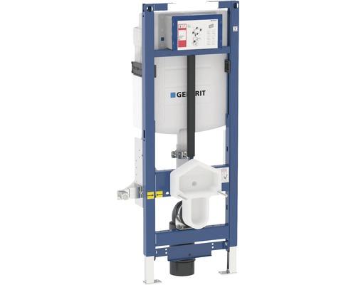 Bâti-support Geberit Duofix pour WC suspendu 112 cm avec réservoir de chasse d'eau à montage encastré Sigma 12 cm accessible WC réglable en hauteur pour actionnement par l'avant 111.396.00.5