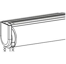 Profilé de montage tube d''enroulement 30 gris-thumb-7