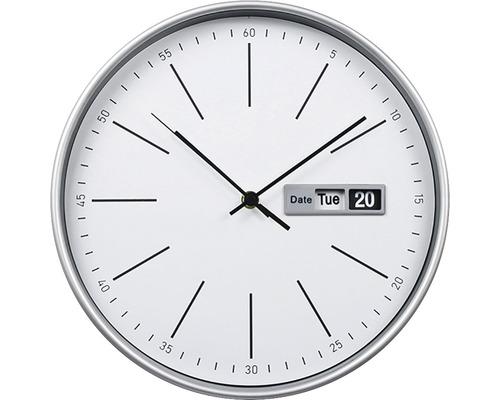 Horloge murale Heure blanche Ø 30 cm