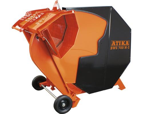 ATIKA BWS 700 N-2 scie circulaire à chevalet avec capuchon de protection courant triphasé 400V avec lame de scie circulaire Ø 700x30 Z 42