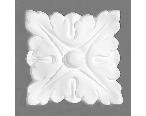 Rosace M50 blanc 2pièces