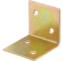 Angle large 40x40x40mm, jaune galvanisé, 1 unité-thumb-0