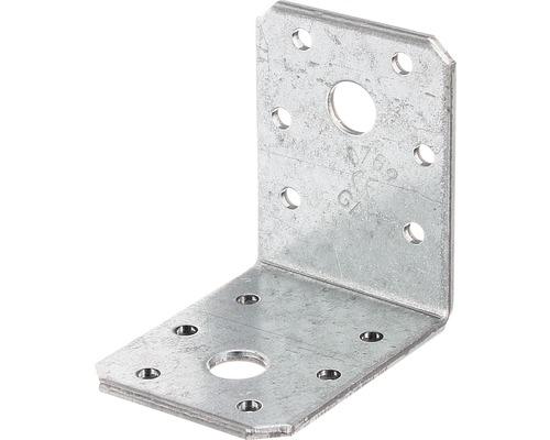 Winkelverbinder 60 x 60 x 45 mm, sendzimirverzinkt, 1 Stück