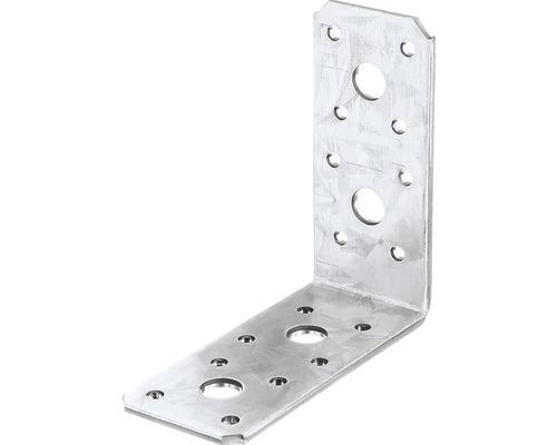 Winkelverbinder 90 x 90 x 40 mm, sendzimirverzinkt, 1 Stück