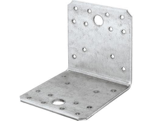 Raccord à angle 100x100x90mm, galvanisé sendzimir, 25 unités