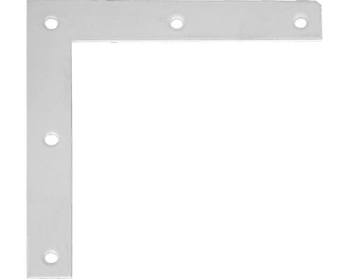 Möbelwinkel 100 x 100 x 15 mm, weiß kunststoffbeschichtet, 1 Stück