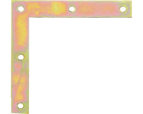 Möbelwinkel 100 x 100 x 15 mm, galv. gelb verzinkt, 1 Stück