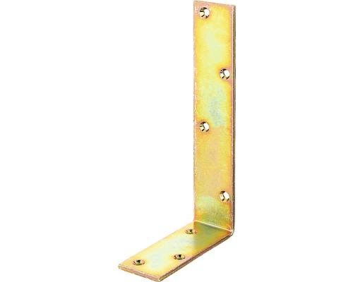 Balkenwinkel 100 x 200 x 40 mm, galv. gelb verzinkt, 1 Stück