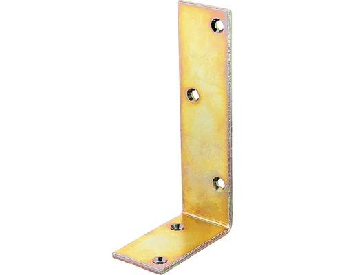 Balkenwinkel 75 x 150 x 40 mm, galv. gelb verzinkt, 1 Stück