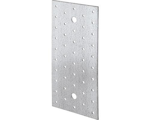 Lochplatte 200 x 100 mm, sendzimirverzinkt, 1 Stück