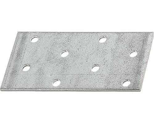 Flachverbinder 80 x 40 mm, sendzimirverzinkt, 1 Stück