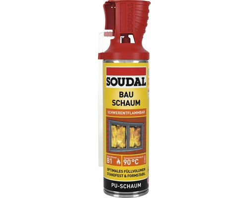 Mousse expansive Soudal B1 Genius Gun 500 ml